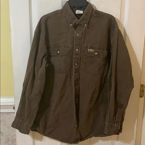 Large Carhartt Button-down Shirt (L)